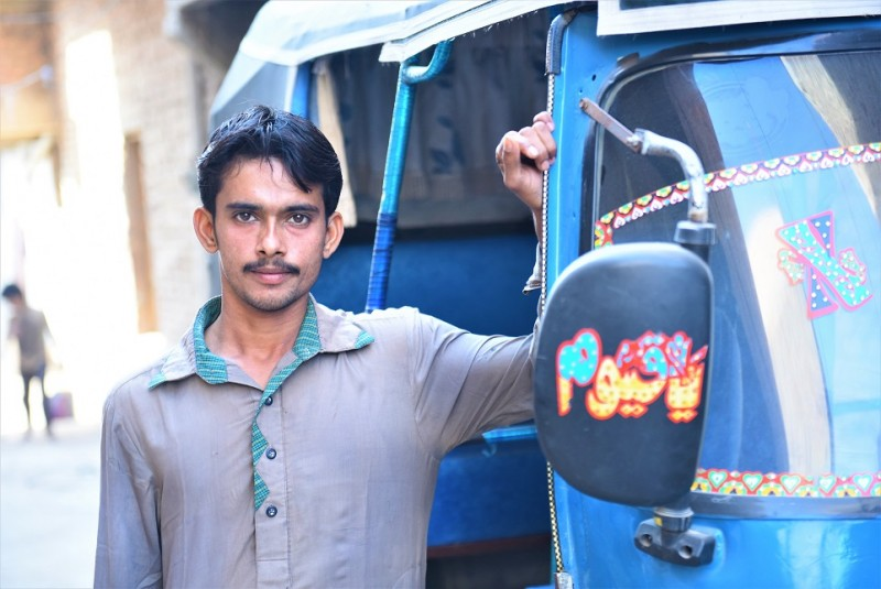 Saleem Wants To Buy His Own Rickshaw