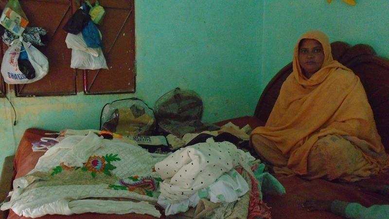 Help Sajida to uplift his financial situation