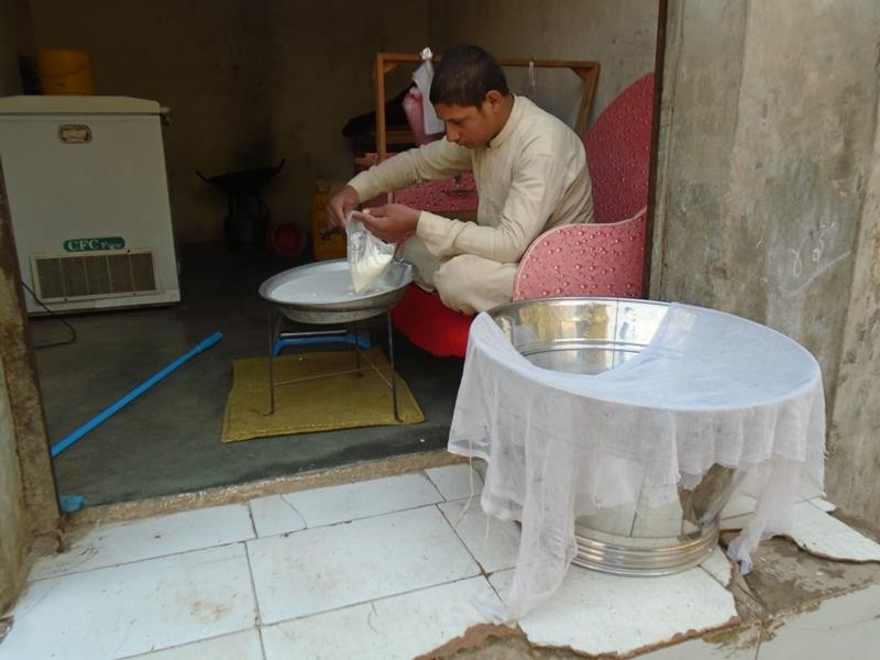 Help Bahadur expand his small milk shop