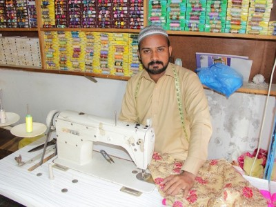 Help Amjad expand his tailoring business