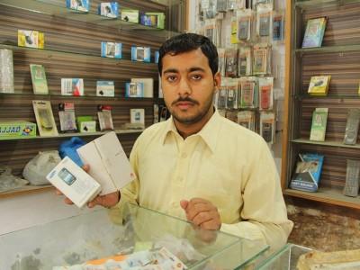 Help Ramiz restock his mobile accessory shop