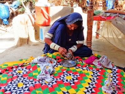 Help Sakina expand her ralli making business