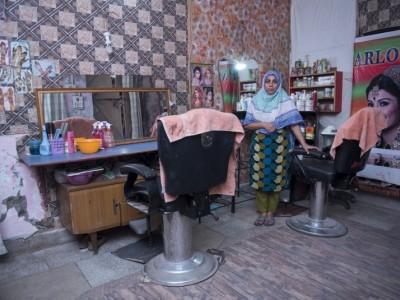 Help Ameena up grade her hair salon