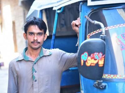 Saleem Wants To Buy His Own Rickshaw