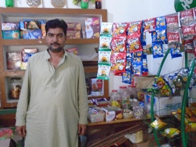 Help Abdul Sami expand his small grocery shop