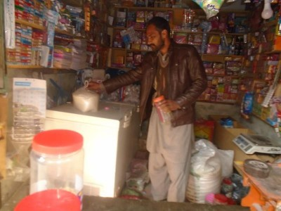 Help Iqbal expand his small grocery shop