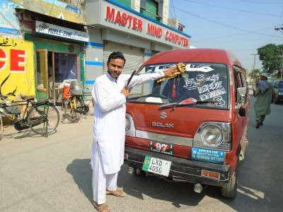 Mir Akbar Needs Funds to Fix his Taxi